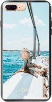iPhone 8 Plus Hoesje TPU Case - Sailing #ffffff
