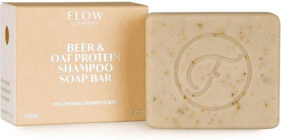 Shampoo bar BEER & OAT - Shampoo voor dun haar - Zero waste - Vegan - Biologisch - 120gr