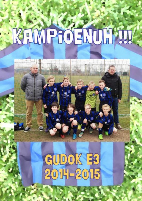 Boek cover Gudok E3 2014-2015 Kampioenuh!!! van Kees Lintermans (Paperback)