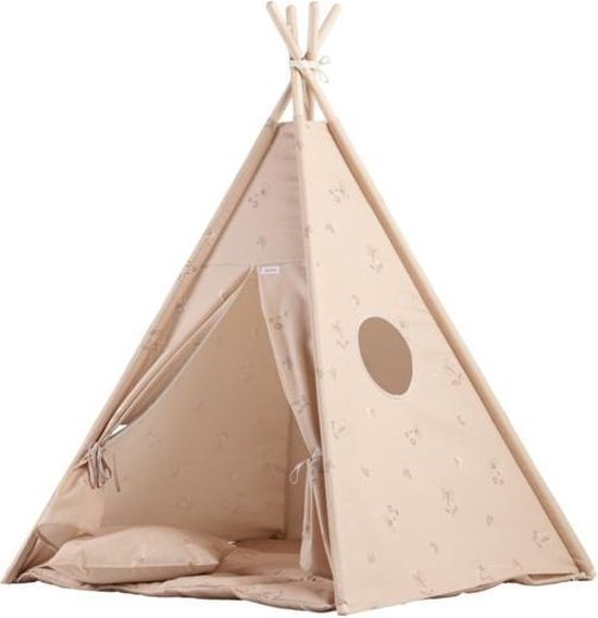 Tipi Tent Speeltent Kinderkamer Pink | Tipi tenten en