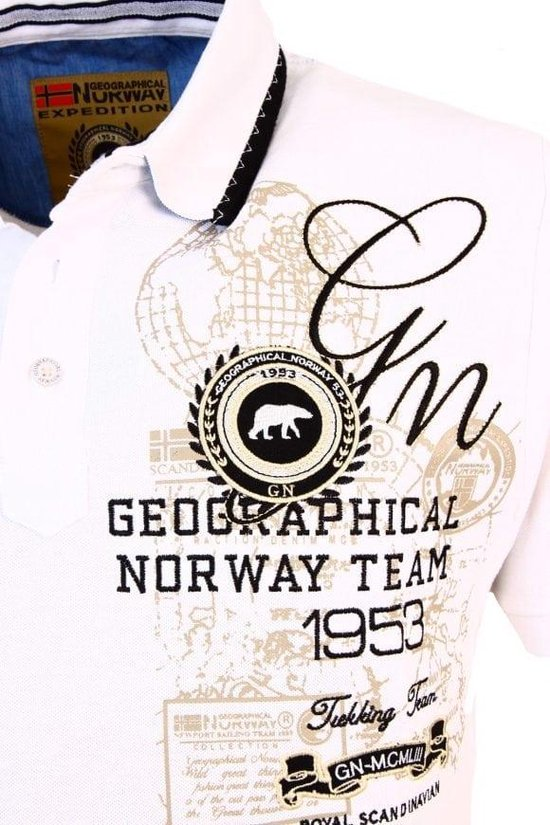 Geographical Norway Poloshirts Heren Poloshirt Xl
