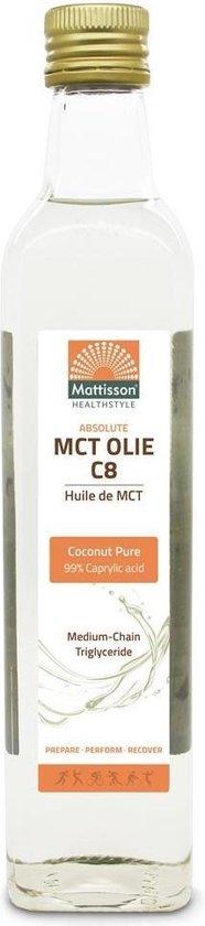 Mattisson / MCT Olie C8 – 500 ml