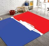 Herms-NBA Basketball-Vloerkleed -Antislip -150x230 cm