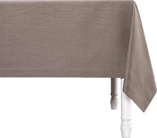 De Witte Lietaer Tafellaken Sonora 160x50 Cm Katoen Bruin