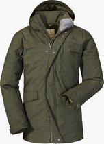 Schöffel Insulated Jacket Clipsham1 Outdoorjas Heren Deep Depths 52