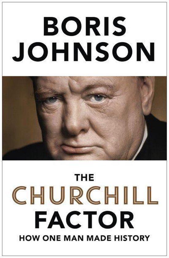 Boek cover The Churchill Factor van Boris Johnson (Onbekend)