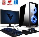 Vibox UK Family 3 - Desktop inclusief toetsenbord, muis en muismat
