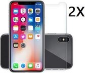 Ntech 2 Stuks Screenprotector Tempered Glass Glazen - Apple iPhone XR