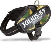 Julius K9 IDC Powertuig Baby 2 - Hondentuigje - Camouflage - 33-45 cm