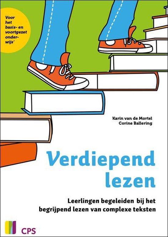 Boek cover Verdiepend lezen van Karin van de Mortel (Paperback)