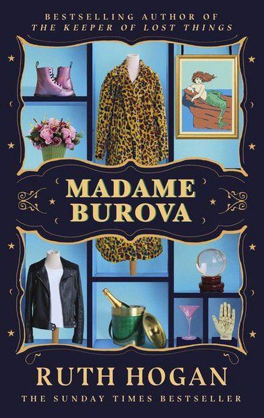 Boek cover Madame Burova van Ruth Hogan (Onbekend)