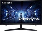 Samsung Odyssey G5 2021 LC27G53TQWRXEN - QHD Curved Gaming Monitor - 144hz - 27 inch