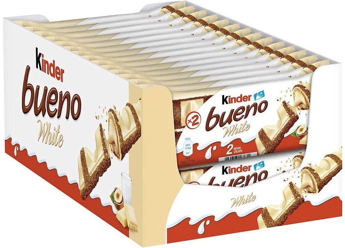 Kinder Bueno White chocolate - 30 x 43 gram