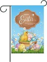 3 STUKS Easter Garden Vlag Banner Binnenplaats Tuin Banner (W210126003)