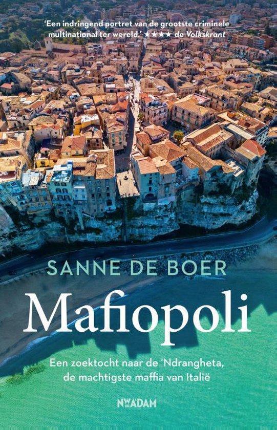 Boek cover Mafiopoli van Sanne de Boer (Paperback)