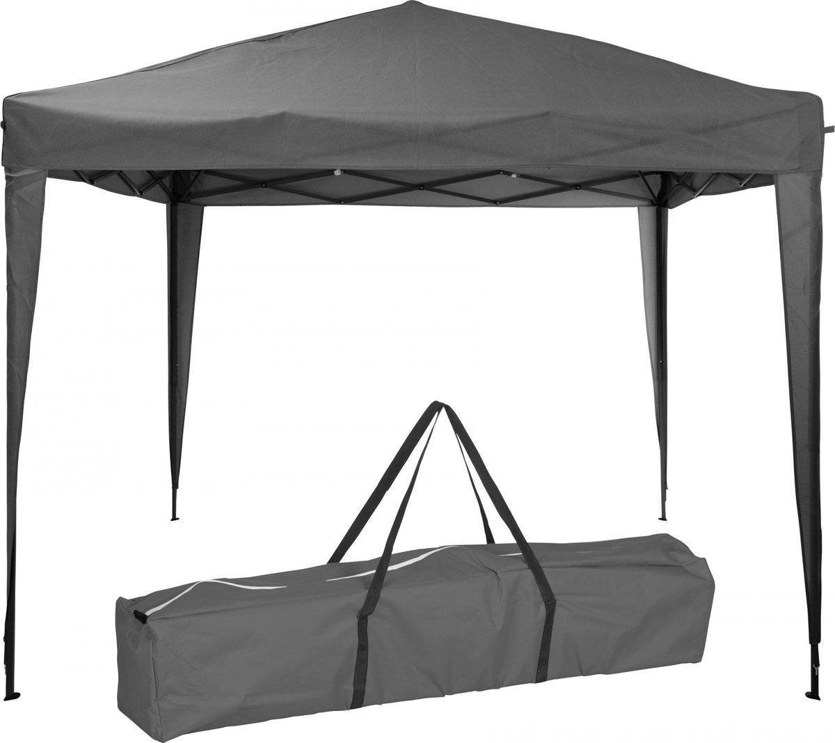 Pro Garden Partytent Easy Up 300 X 300 X 245 Polyester Antraciet