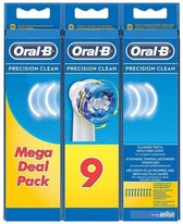 Oral-B Precision Clean - Opzetborstels - 9 Stuks