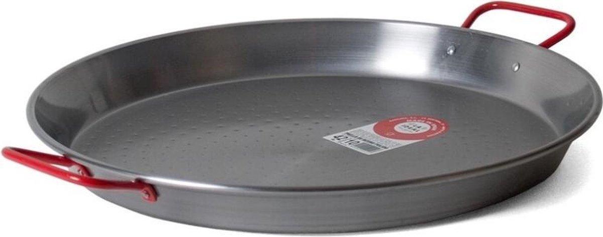 Paella pan, Plaatstaal, 42cm - Garcima   Valenciana
