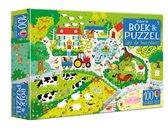 Op de boerderij Boek & puzzel