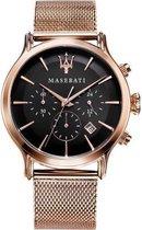 Maserati Epoca Horloge - Maserati heren horloge - Roségoud - diameter 42 mm - Rose Gold toned Stainless Steel
