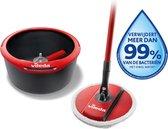 Vileda Spin & Clean Mopset - 360 Graden - Compacte Emmer
