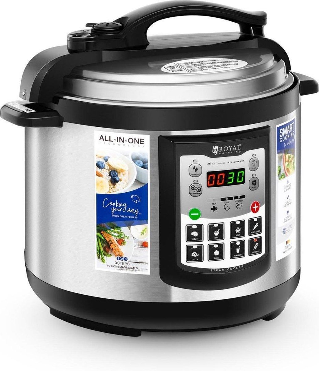 Royal Catering Multicooker 5 liter 900 W online kopen