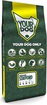 Pup 12 kg Yourdog amerikaanse stafford hondenvoer