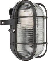 Elro Bull Eye Lamp - Ovaal - Zwart - BE60Z