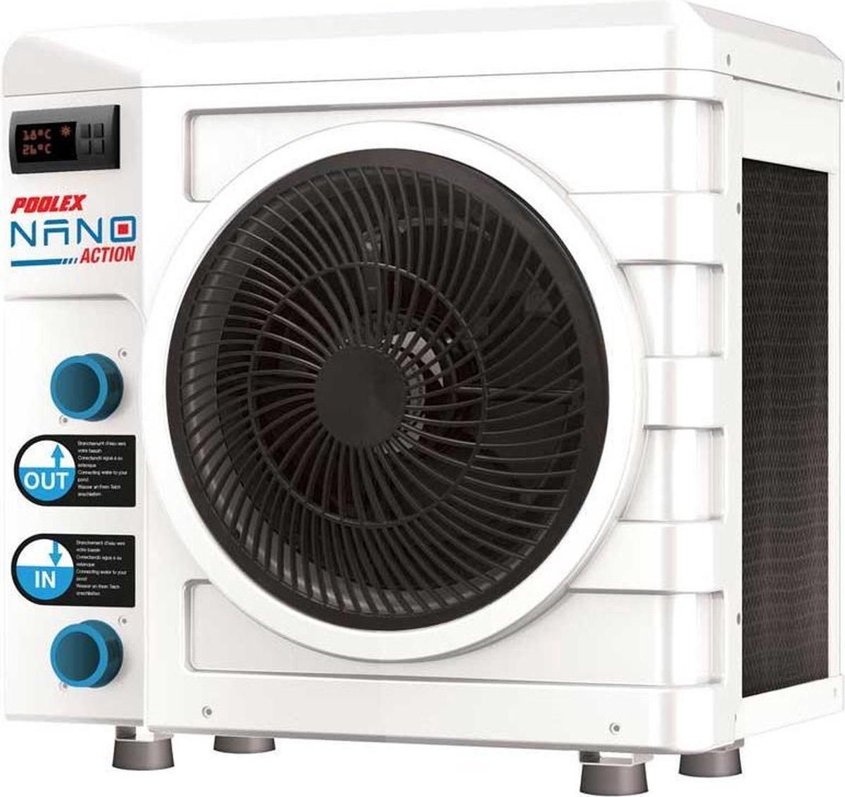 Poolex Nano Action warmtepomp   3 kW