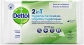 Dettol Hygienische Doekjes 2 in 1 - 12 stuks
