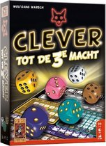 999 Games Gezelschapsspel Clever Tot De 3e Macht (nl)
