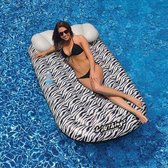 Zwembad luchtbed drijvend zebra stijl 180cm