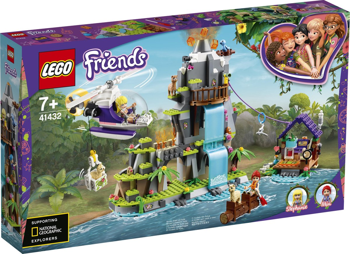 LEGO 41432 Alpaca Mountain Jungle Rescue