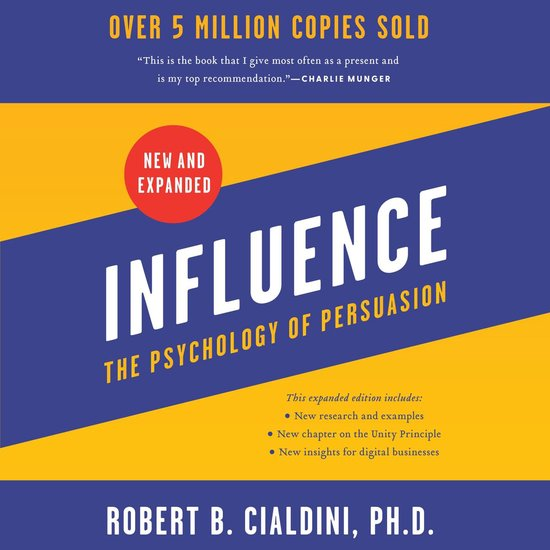 Boek cover Influence, New and Expanded van Robert B. Cialdini (Onbekend)