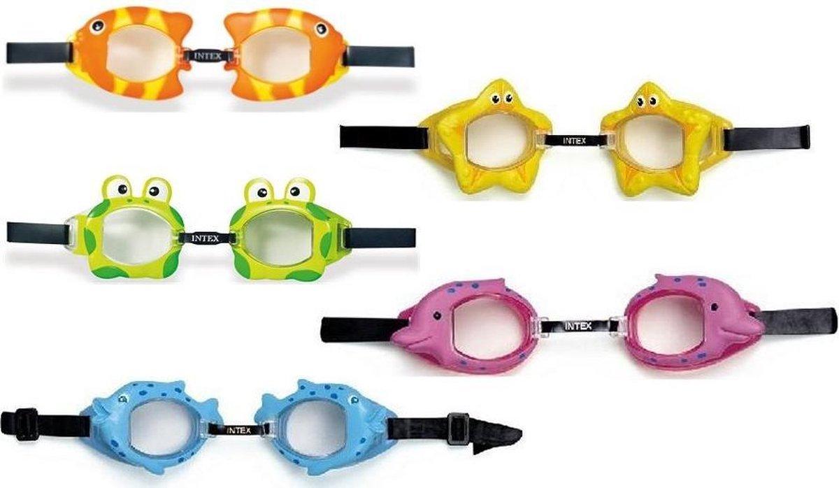 Intex 55603 Fun Kinder Zwembril 3-8 Jaar Assorti