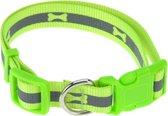 Dogs Collection Hondenhalsband Neon 30-50 Cm Polyetheen Groen