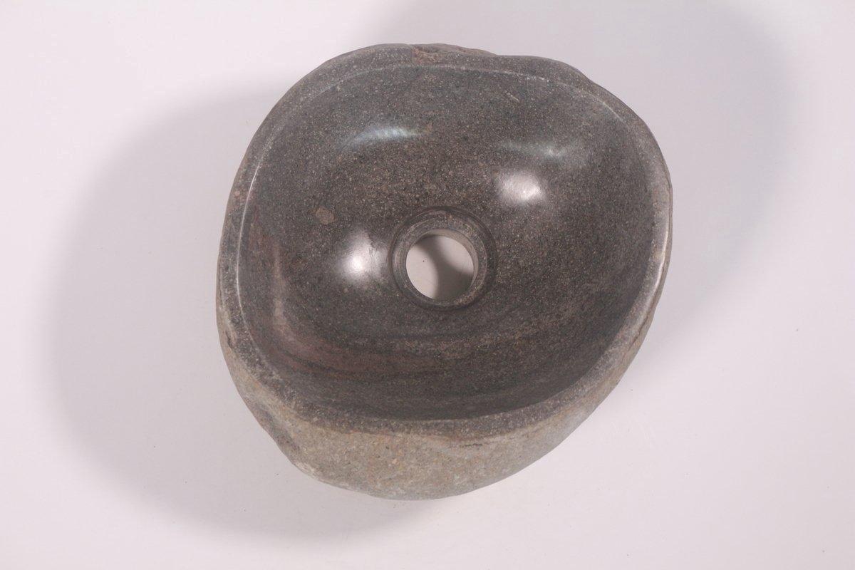 Natuurstenen waskom | DEVI-W21-319 | 26x25x12