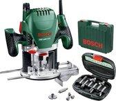Bosch POF 1400 ACE bovenfrees incl. 6-delige frezenset in koffer - 1400W