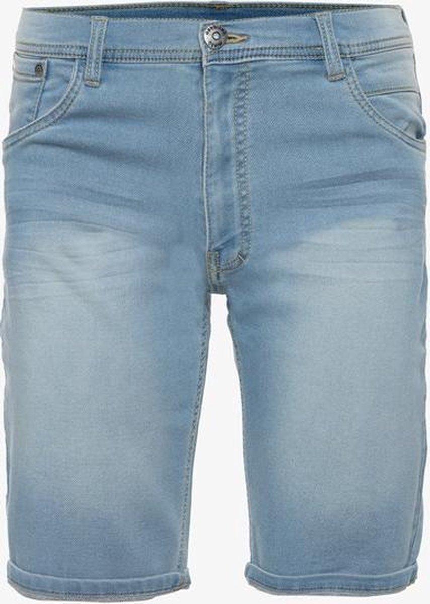 Unsigned heren jog denim short - Blauw - Maat XL