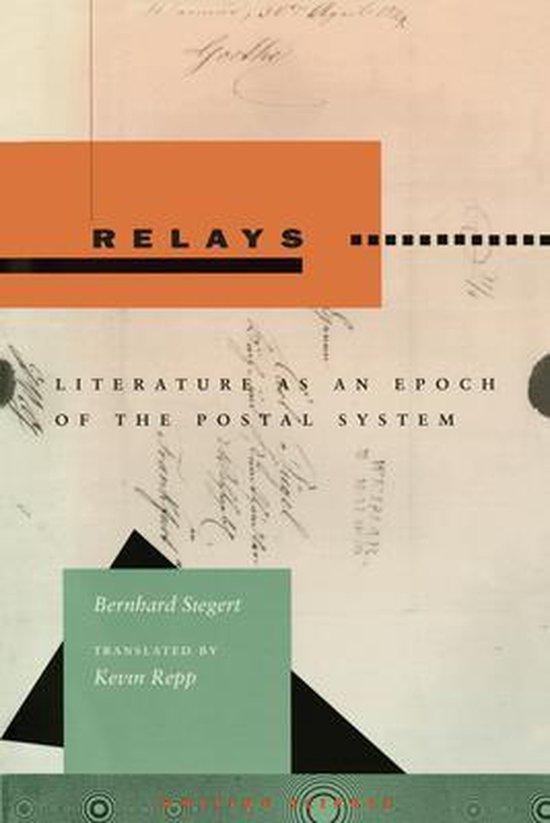 Boek cover Relays van Bernhard Siegert (Paperback)