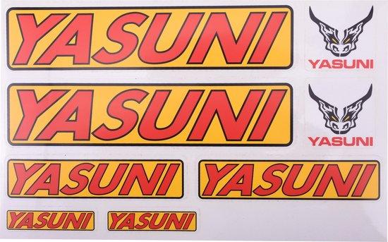 STICKERVEL YASUNI ( PER VEL A4 FORMAAT )