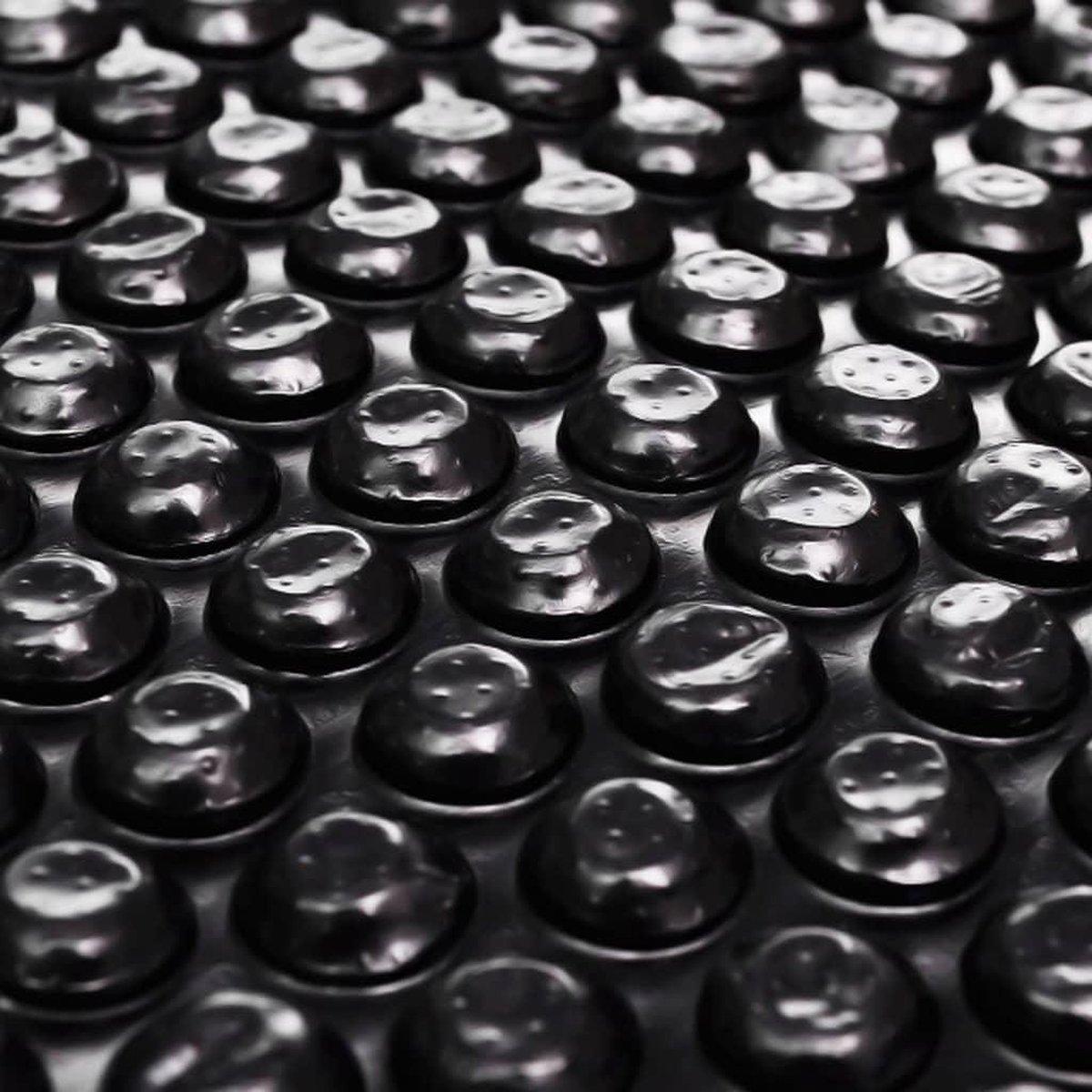 vidaXL Zwembadhoes rechthoekig 800x500 cm PE zwart