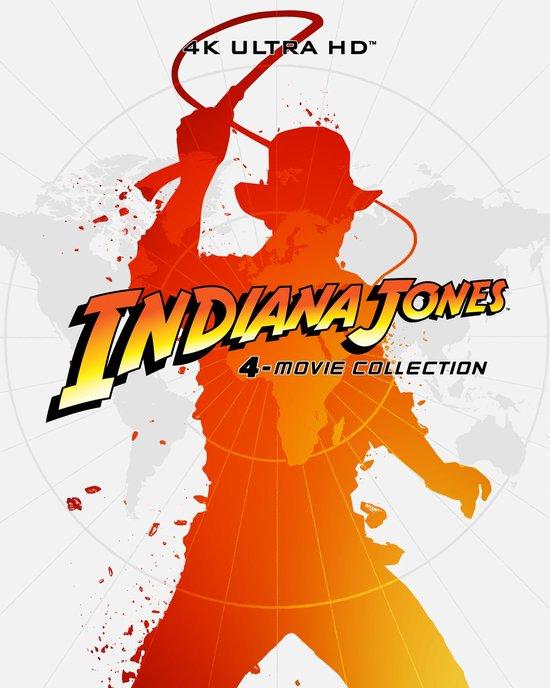 Indiana Jones 4-movie Collection (Steelbook) (4K Ultra HD Blu-ray)