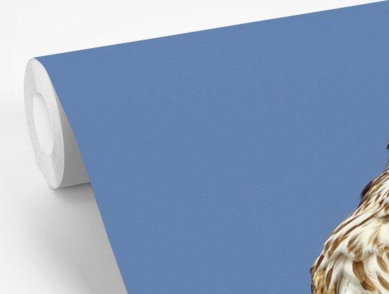 Fotobehang vinyl - Smelleken verzorgt zichzelf breedte 275 cm x hoogte 220 cm - Foto print op behang (in 7 formaten beschikbaar)