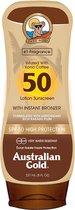 Australian Gold SPF 50 Zonnebrand Lotion met bronzer - 237 ml