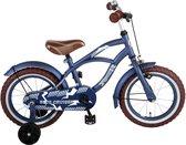 Volare Blue Cruiser Kinderfiets - Jongens - 14 inch - Blauw
