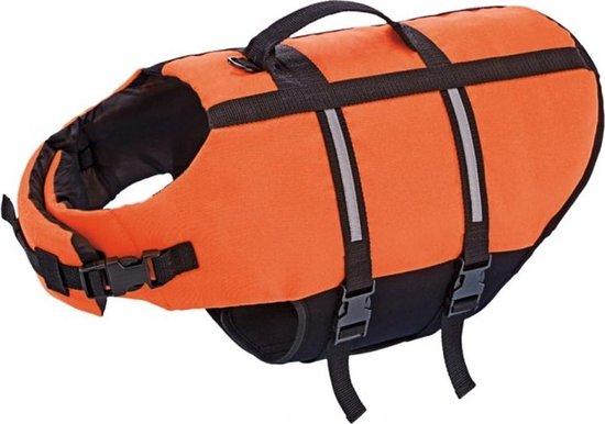 Nobby - Zwemvest - Hond - Large - Met handvat - Honden tot 35 kg - Oranje