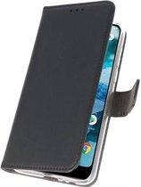 Wicked Narwal | Wallet Cases Hoesje voor Nokia 7.1 Zwart