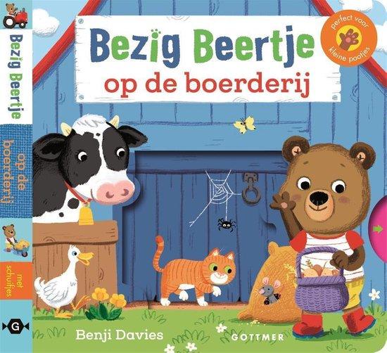 Bezig Beertje - Bezig beertje op de boerderij - Benji Davies |