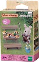 Sylvanian Families 5091 Barbecueset Voor De Familie - Speelfigurenset